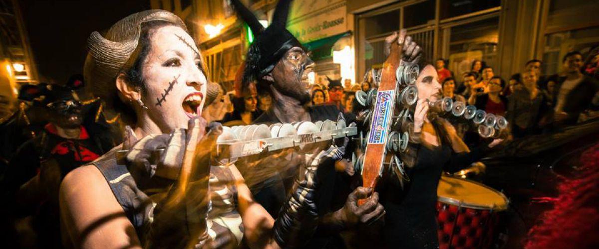 Batucada, spectacle de rue